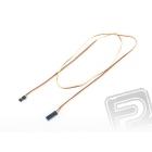 4606 S prodlužovací kabel 90cm JR plochý silný, zlacené kontakty