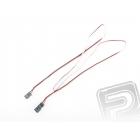 4606 J prodlužovací kabel 90cm FUT plochý silný, zlacené kontakty