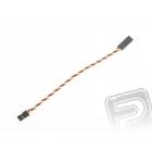 4609 S prodlužovací kabel 15cm JR kroucený silný, zlacené kontakty