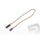 4610 S prodlužovací kabel 30cm JR kroucený silný, zlacené kontakty