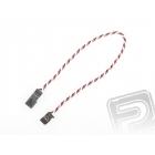 4610 J prodlužovací kabel 30cm FUT kroucený silný, zlacené kontakty