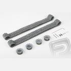 Upgrade kit tunning - kovové pásy + kola (pro 3838)