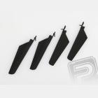 Listy rotoru, sada (černá) - V4 COLIBRI, Solo V1