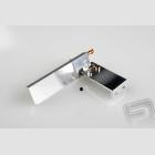 CNC kormidlo 75mm W