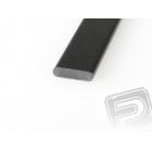 Uhlíková pásnice 4x15mm 1m