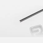 Kabel silikon 1.0mm2 1m (černý)