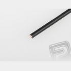 Kabel silikon 2.5mm2 1m (černý)