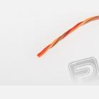 Kabel třížilový kroucený tenký JR 0.15mm2