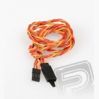 JR024 prodlužovací kabel kroucený 90cm s pojistkou