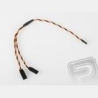 JR242 V-kabel kroucený JR (30cm)