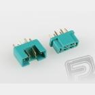 7925/5 MPX konektor zelený 5 párů