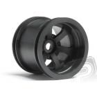SCORCH 6-paprskové ráfky černé (55x50mm) (2,2in/55x50mm/2ks)