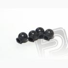 Kulička kloubku, 6.8 x 7.3 x 3mm (černé, 4ks)