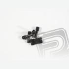 Pojistný červík M4x2.5x12mm, (černá/6ks.)