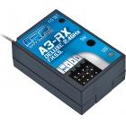 A3-RX Deluxe 2.4GHz FHSS přijímač 3 kanál