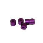 2 mm.alu stavěcí kroužky fialové (5 ks.)