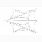 XXX Main - Airbrush šablona - Side Slip