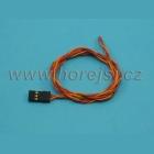 Servokab. 50cm PVC konektor 0,14mm2
