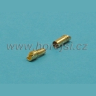 Konektor 3,5 mm zlacený DB3