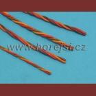 Servokabel krouc. PVC 0,34