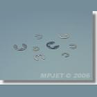 MPJ 0753 Poistný krúž.pr.3,2 10ks/b.