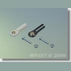 MPJ 2400 Guľový čap M1,6 2ks/bal.