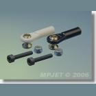 MPJ 2456 Guľový čap M3 imb.kr..2ks/b