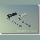 MPJ 2404 Guľový čap M1,6 dlhý 2ks/b