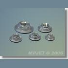 MPJ 1024 Upevňov.mat.M5 nízka 4ks/b.