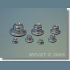 MPJ 1008 Upevňov. matica M5 4ks/bal.