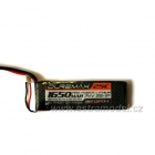 DUREMAX Power LiPol 7.4V 1650mAh 25C EC3