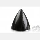 Profi kužel 89mm černý (imitace carbon)