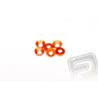 Konická podložka 3x6.9x2mm - oranžové (6 ks.)
