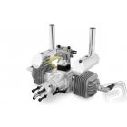 Motor DLA 64 ccm (dvouválec) včetně tlumiče a příslušenství