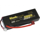 Black Magic LiPol Car 7.4V 5000mAh 35C Deans