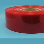 Smšť. bužírka 25 mm červená tr.