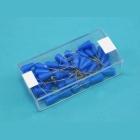 Modelářské špendlíky modrá