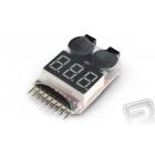 LiPo alarm 2-8S - zvukov� signalizace nap�t�