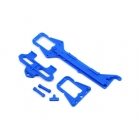 LaTrax - horní část šasi, držák akumulátoru