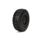 ECX Kolo s pneu (2): 1:18 Torment