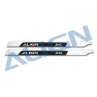 ALIGN - rotorové listy 780 Carbon - 780mm - T-Rex 800