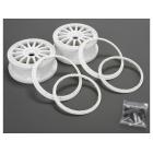 5ive Mini: Disk kola s beadlock kroužkem bílý (2)