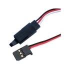 Kabel serva prodlužovací SPM/JR s klipem HD 20cm