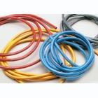 Silikonový kabel 3,3qmm, 12AWG, 1metr, červený