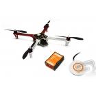 F450 + Naza-M V2 + GPS + podvozek