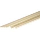 Broušený smrkový nosník 4x4mm (1m)