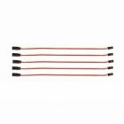 Prodlužovací kabel 300mm JR 0,16qmm silný, zlacené kontakty ,5ks. (PVC)