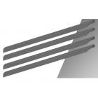 listy SpinBlades Matt Grey Scale 4-list 600