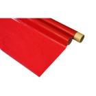 IronOnFilm - transparentní červená 0.6x2m