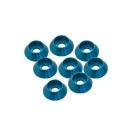 3 mm. alu kuželové podložky modré (8 ks.)